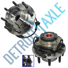 FROM 3/22/99-2004 Ford F-250 F-350 2 Front Wheel Bearing & Hub Assy ABS 4x4 SRW