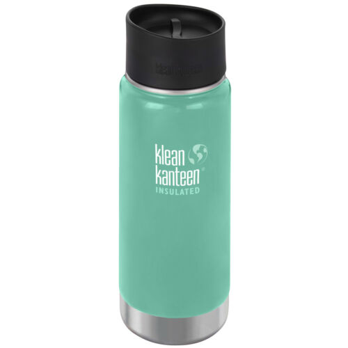 Klean Kanteen 16 oz Wide Insulated Bottle with Cafe Cap