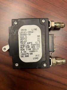 AIRPAX 10 AMP BULLET BREAKER LELK1-1RS4-30452-10-V *