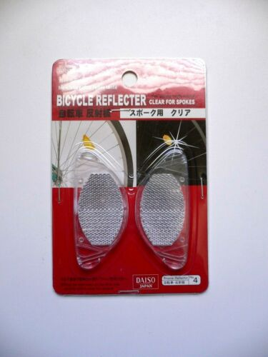 Brand New Bicycle Light Reflector For Wheels Spokes 1 Pack 2 Pieces