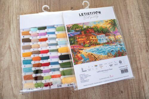 Island Time cross stitch kit by Letistitch 926