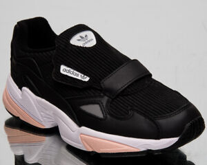 Details zu adidas Falcon RX Women's Black Pink Grey Casual Lifestyle  Sneakers Shoes EE5112
