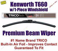 Wiper Blade 1-pack Premium Fits 2008+ Kenworth T660 W/1-piece Glass - 19180