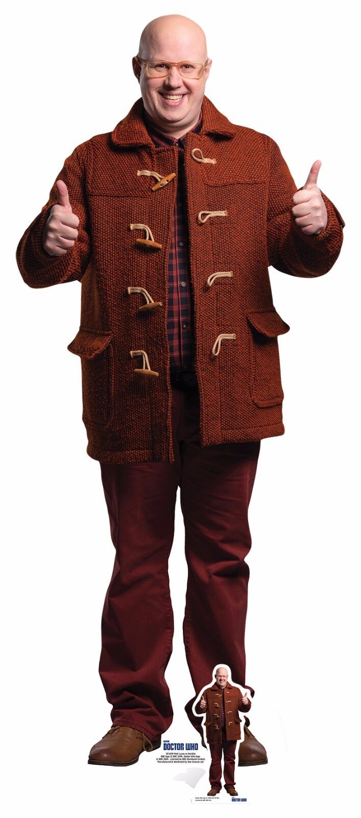 Nardole from Doctor Who Official LifeGröße and and and Mini Cardboard Cutout Matt Lucas 85b5d8