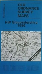 OLD-ORDNANCE-SURVEY-MAPS-NW-GLOUCESTERSHIRE-amp-MAP-DYMOCK-1896-Godfrey-Edition