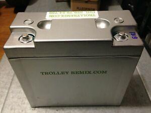 Batteria da Golf LIFEPO4 22AH 12V compresa di custodia e caricabatteria 5A