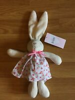 Marks & Spencer White Soft Baby Bunny Toy - Mint Condition + Tag