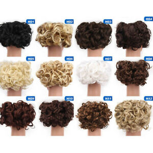 Curly-Easy-Clip-In-Hair-Bun-Synthetic-Hair-Chignon-Hair-Ponytail-Extensions-Kzs