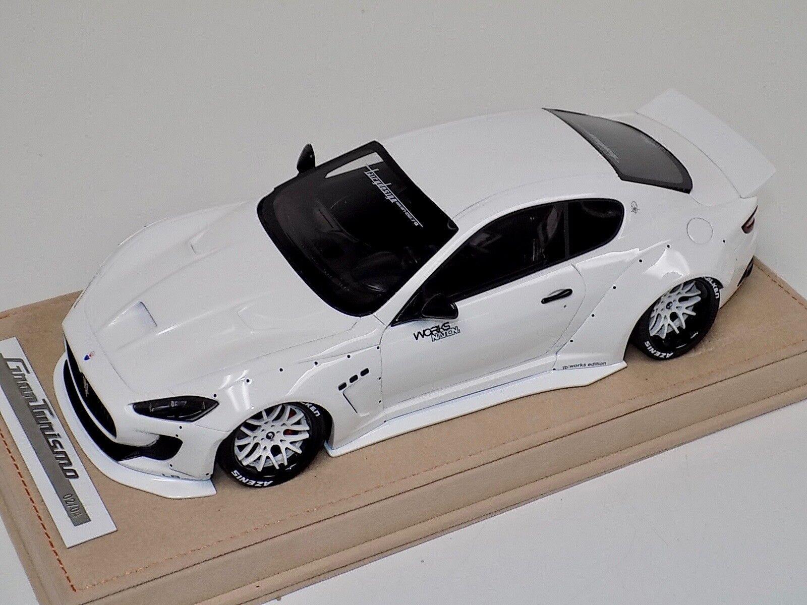 Modelos Maserati GranTurismo Liberty AB Caminar Blanco Ruedas no dcls Alcantara