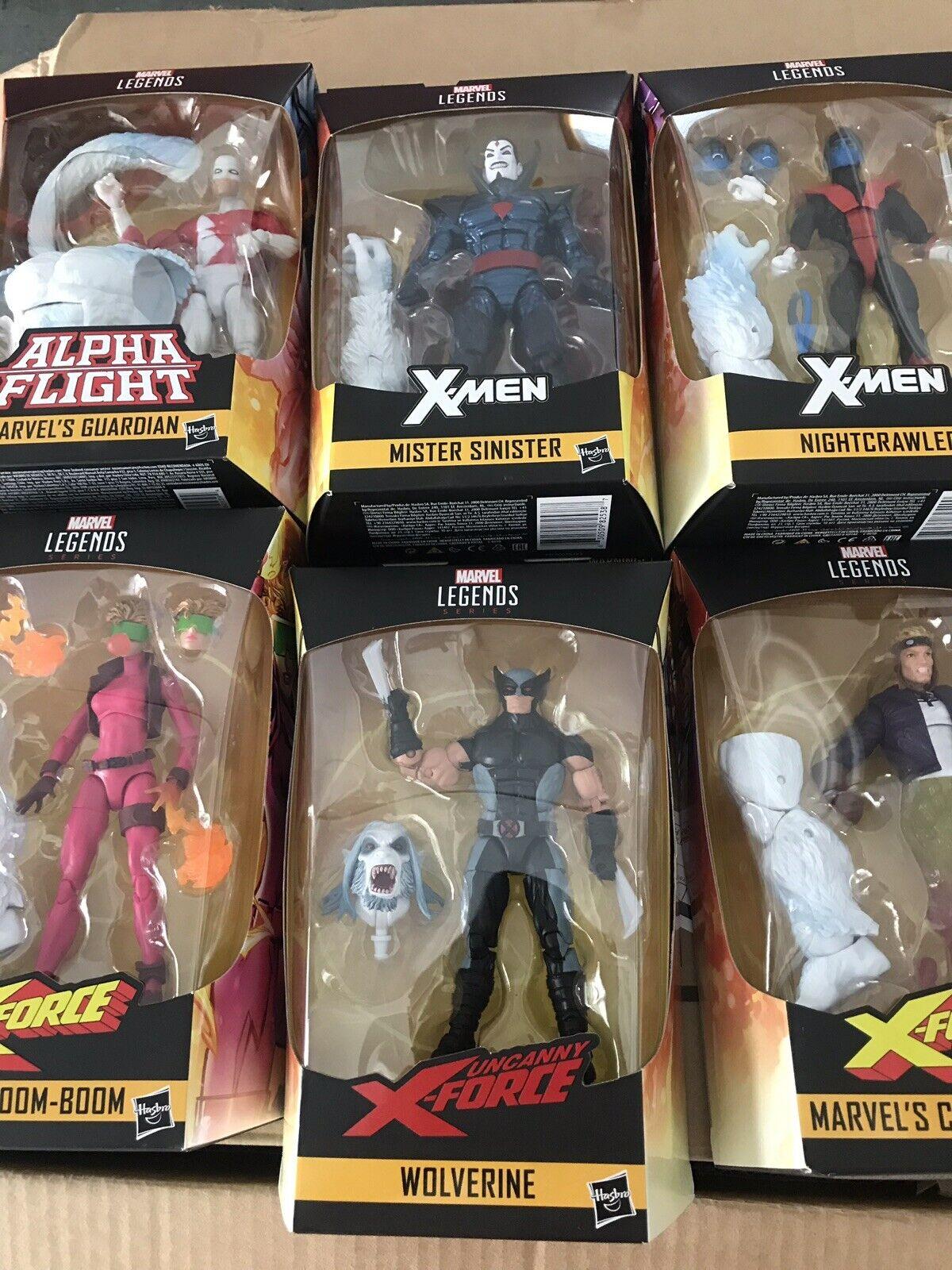 Preventa Leyendas De Marvel X-Force Onda 1 Conjunto de 6 figuras de 6 pulgadas Wendigo Baf