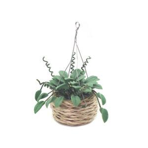 1-12-Puppenhaus-Simulation-Mini-Blume-Pflanze-Topfkorb-Haengender-Korb-Zubehoer