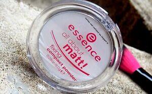 Essence-tutto-di-Matt-fissaggio-compatta-trasparente-polvere-pressata-controllo-olio-8g