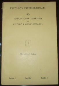 PSYCHICS-INTERNATIONAL-VOL-1-NO-1-INTERNATIONAL-QUARTERLY-PSYCHIC-amp-YOGIC