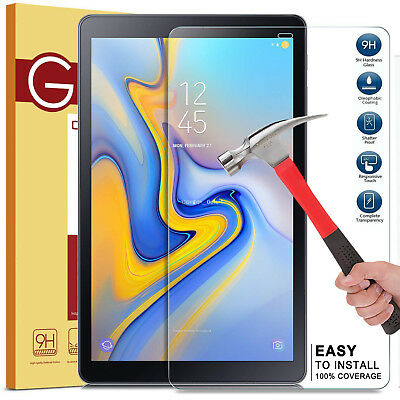"2 Pack Tempered Glass Screen Protector for Samsung Galaxy Tab A 10.5/"" SM-T590"