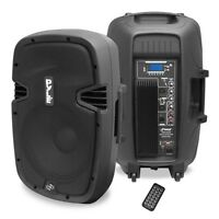 "NEW Pyle PPHP1537UB 15"" 1200W BLUETOOTH Powered Speaker W/ USB SD Input & Remote"