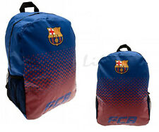 Barcelona FC Official Fade Print Football Crest Backpack/Rucksack