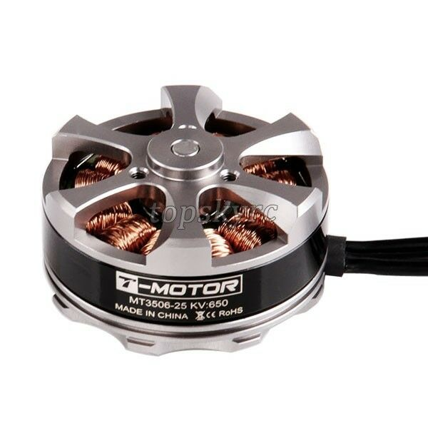 T-Motor MT3506 650KV Tiger Disk Brushless Motor for Multirotor OctaCopter