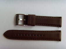 FOSSIL Original Ersatz Lederarmband FS4735 Uhrband watch strap braun brown 22 mm