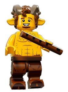 LEGO Minifigures Series 15 Satyr / Faun - suit castle / fantasy set