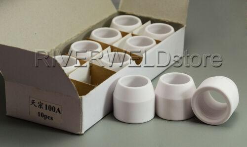 10pcs Air Plasma Cutter Consumables Shrouds TZ-100 80-120A
