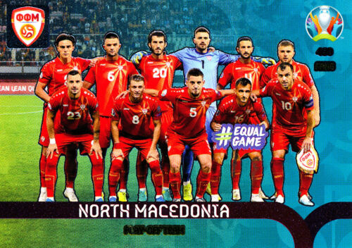 Panini Adrenalyn XL UEFA Euro 2020 play-off Team Norte-macedonia