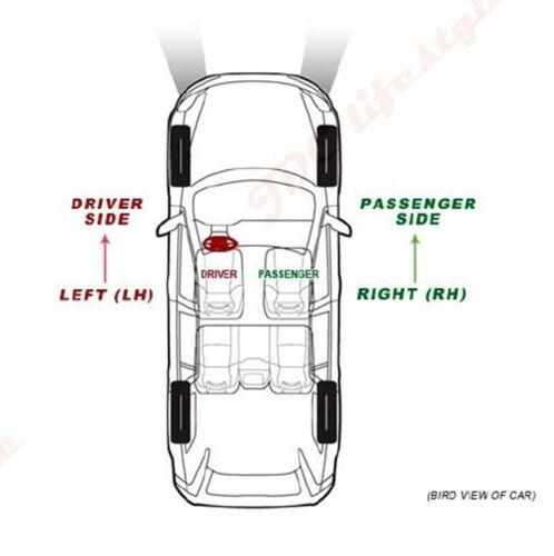 NEW fit VW EOS GTI R32 JETTA RABBIT PASSAT Driver Side Left LH Mirror Glass#4104