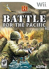 History Channel Battle For The Pacific - Nintendo Wii - $5.95