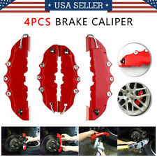 4pcsset Front And Rear Universal Red 3d Style Car Disc Brake Caliper Covers Us Fits Jaguar