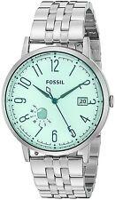 Fossil Women's ES3956 Vintage Muse Multifunction Green Dial Steel Watch