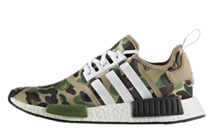 check out 4f79a 2de5c Details about BAPE X ADIDAS NMD R1 Never worn MEN SIZE 7