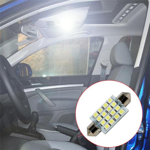 New 31-41mm 12v Car Festoon Led Smd c5w sv8.5 Light Bulbs Interior Hid White