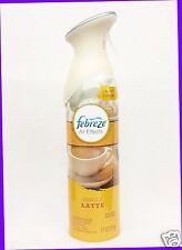 1 Febreze Air Effects VANILLA LATTE Air Freshener Room Spray Mist Bottle