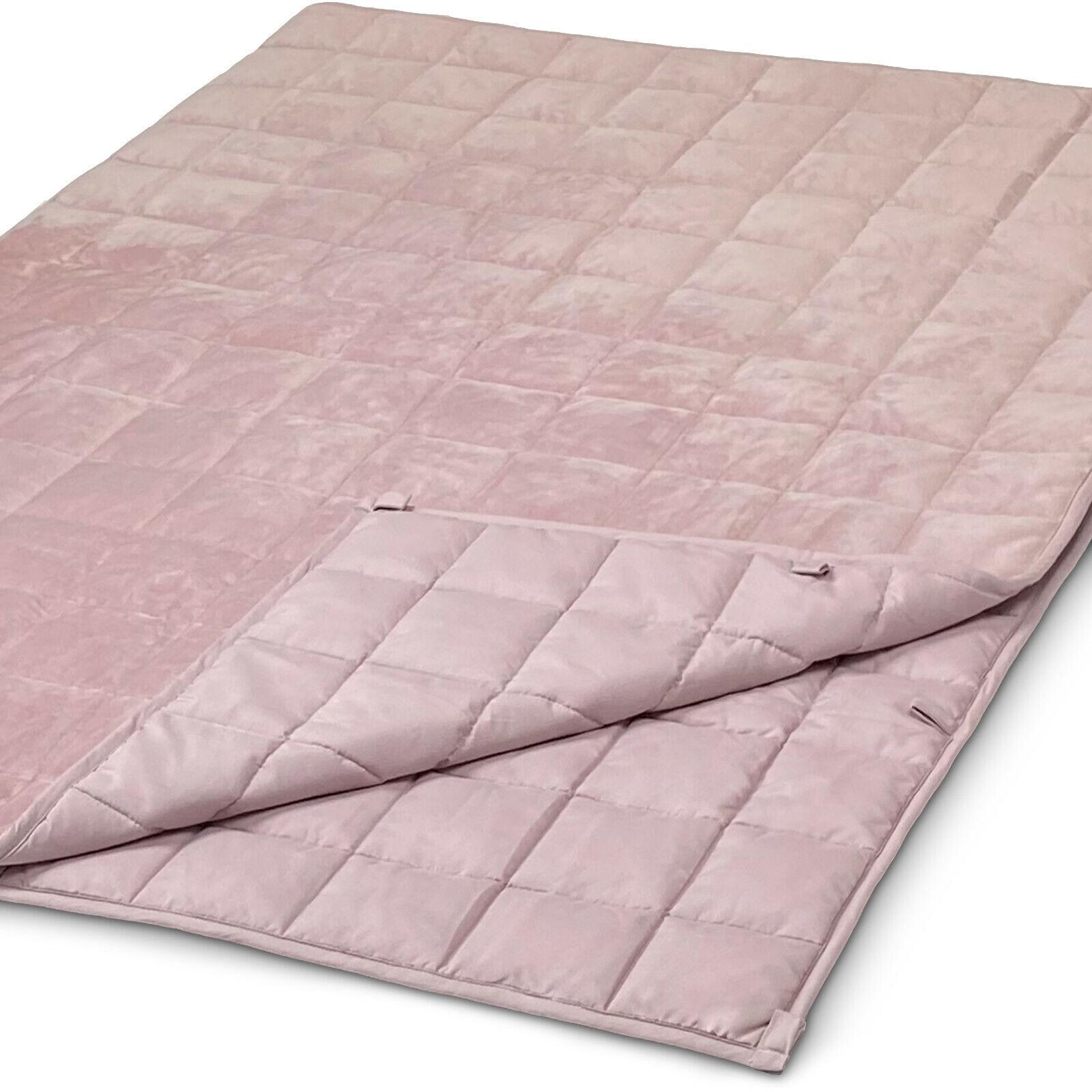 WAVEBEAD Rosa Gewichtsdecke 6kg 135x200 aus OEKO-TEX® STANDARD 100 Material