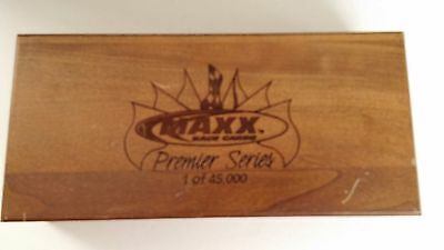 MAXX Nascar 1995 Premier Series Limited Ed Wood Box Sealed Cards Earnhardt
