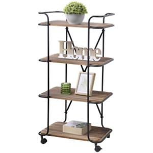 trolley etagere plante salon servante roulette meuble bois fer forge roue 308 ebay. Black Bedroom Furniture Sets. Home Design Ideas