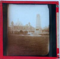 Antique Photograph Magic Lantern Glass Slide - The Dome, Whitley Bay, England