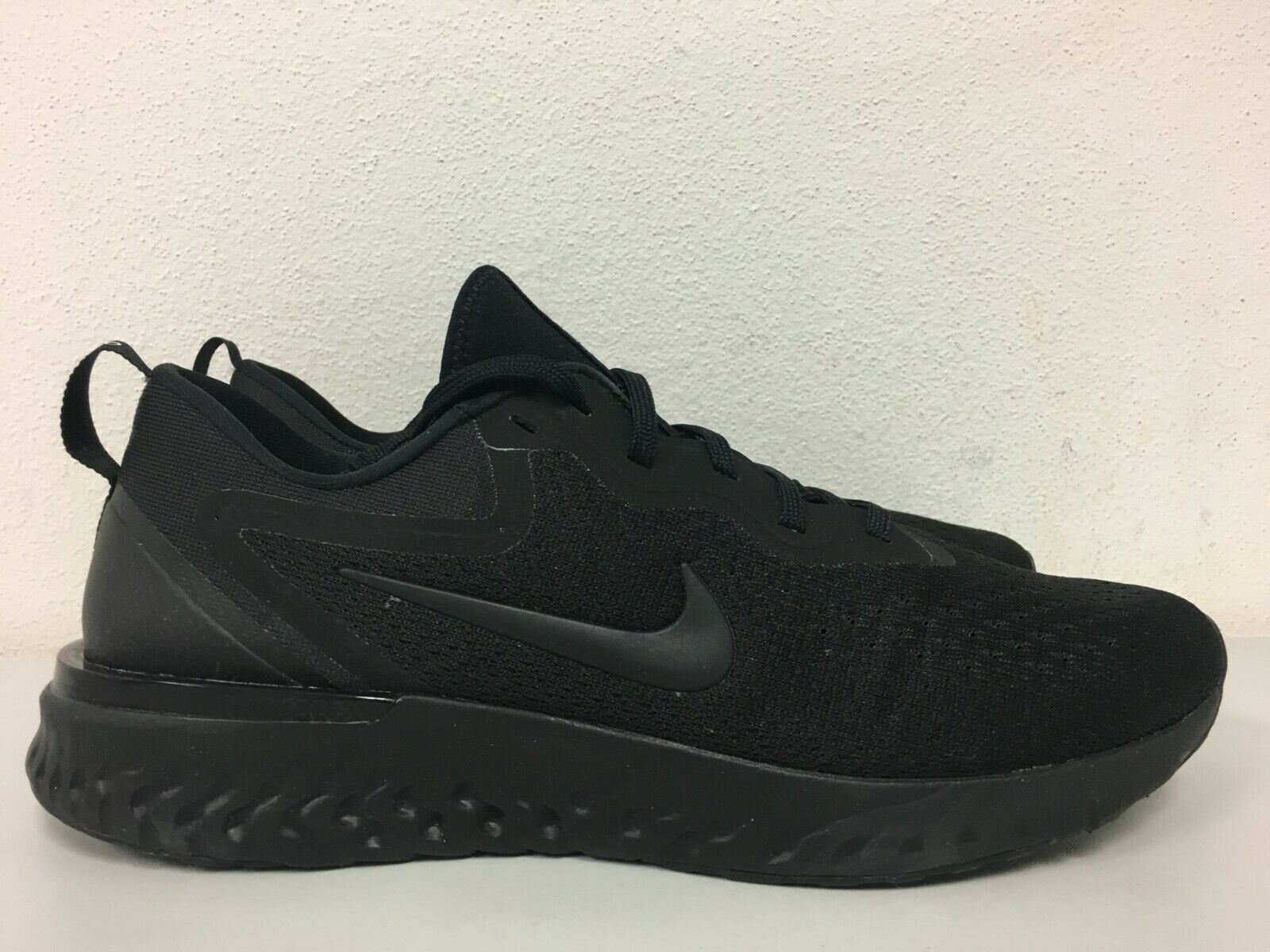 Nike Odyssey React Triple Black Blackout Epic Black OG AO9819-010 Size 10