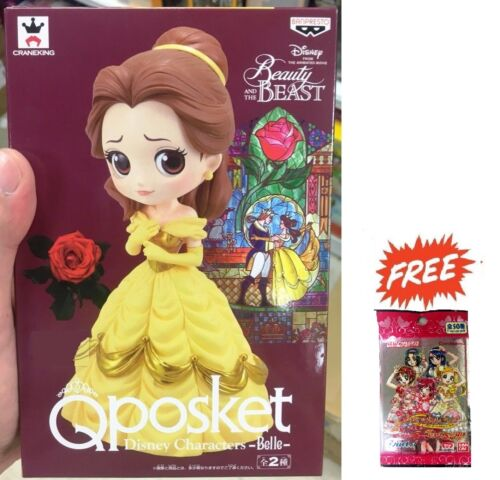 BANPRESTO QPOSKET DISNEY PRINCESS CHARACTERS BEAUTY AND THE BEAST BELLE FIGURE