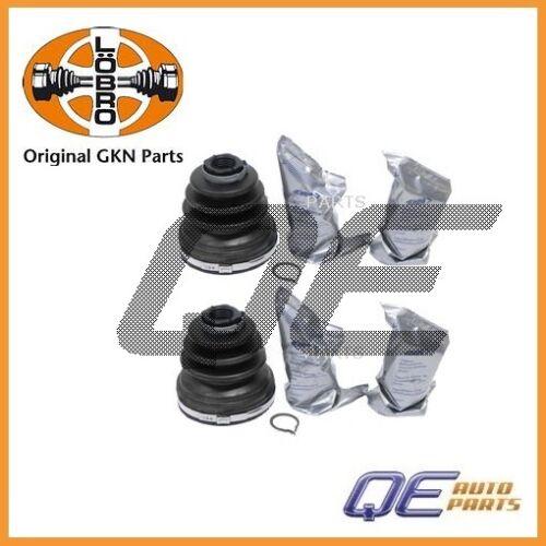 2 Left Right C.V Boot Kit GKN LOEBRO 31256223 For Volvo S70 V70 S60 1999-2007