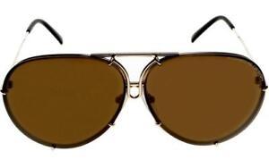 3a8109cbce Image is loading Porsche-Design-Titanium-Sunglasses-P8478-A-Light-Gold-