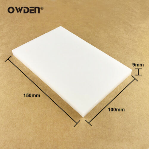 OWDEN Leather Poly Punch Board White Cutting Mat Tool