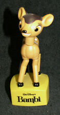 VINTAGE Disney Character Bambi PUSH PUPPET TOY Small Planet Japan - China Made