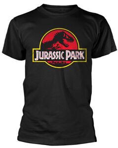 Jurassic-Park-039-Logo-039-T-Shirt-NEW-amp-OFFICIAL