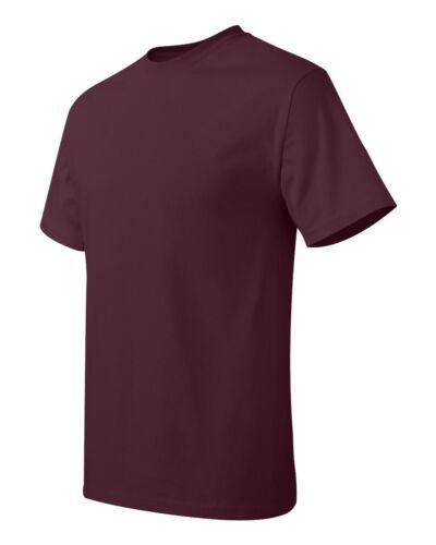 6XL New Tee Tagless T-Shirt 30 Colors Hanes Mens Unisex shirts S 5250