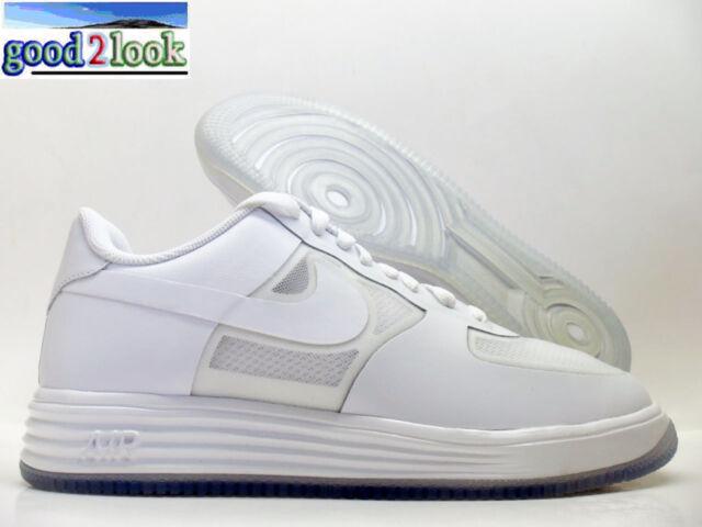 acd16feb5162 Nike Lunar Force 1 Fuse LTHR White red Size Men s 13 599839-100 for ...