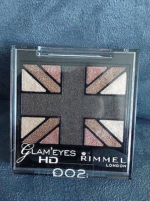 Glam'Eyes HD Quad Eyeshadow Palette - English Oak by Rimmel #19