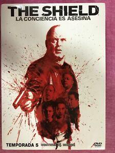 THE SHIELD QUINTA 5ª TEMPORADA COMPLETA SERIE TV 4 x DVD  AM