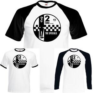 2-Tone-Records-The-Specials-Homme-Retro-Musique-T-shirt-Ska-Northern-Soul-Reggae