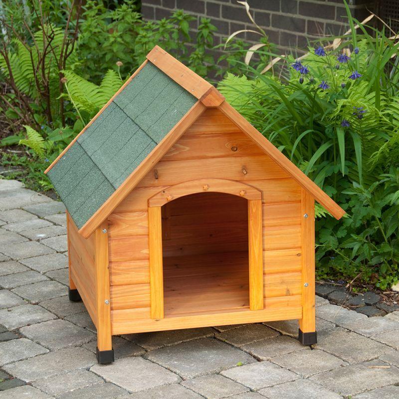 Cuccia Per Per Per Cani In Legno Casetta Large 6a3dc2 Tappetino