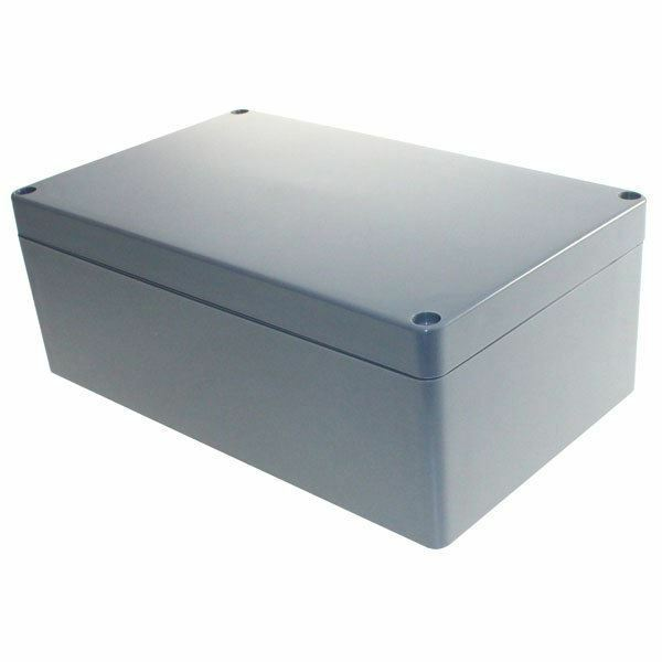 CamdenBoss 7300-373 ABS Case Grey Lid 200 x 120 x 75mm 7300 Series